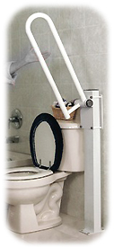 Fixed Folding Toilet Side Rails