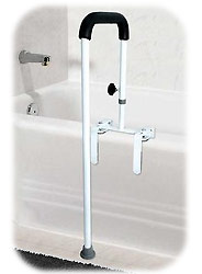 Floor To Tub Rails