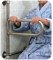 Toilet Grab Bars Safety Handrails handicap handrails for the home