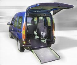 Rear Entry Handicap Van Conversion