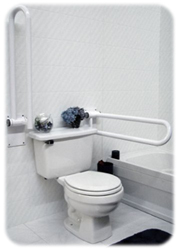 Toilet Side Rails | Handicapped Equipment