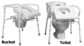 Toilet Commodes | Handicapped Equipment