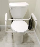 Equipment to Help Get Off the Toilet