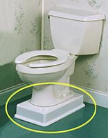 Handicapped Equipment Elevated Bathroom Toilet Seats For