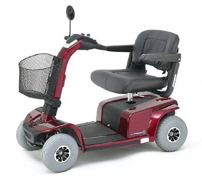 red-mobility-scooter